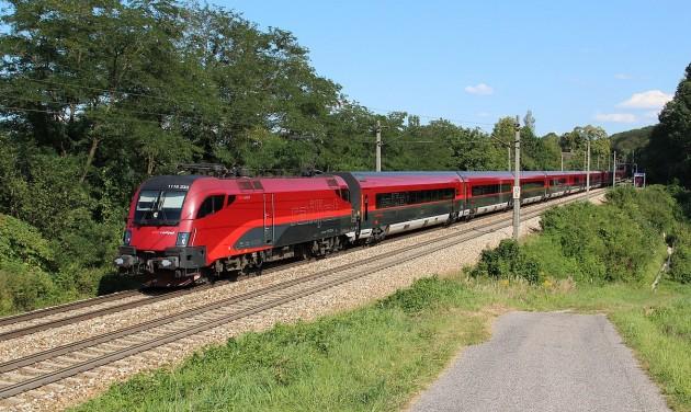 Expresszvonat köti össze Budapestet Frankfurttal