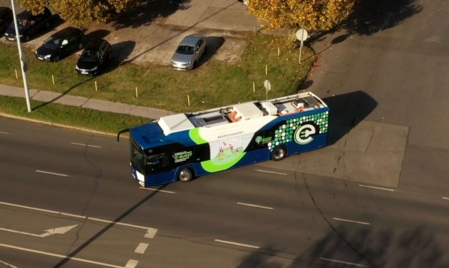 Kecskeméten folytatódik a zöld buszok tesztelése