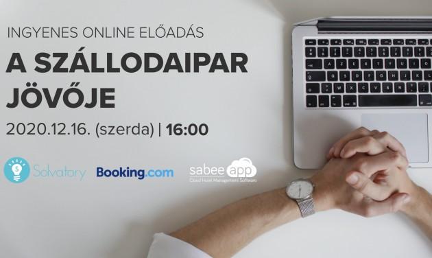 A szállodaipar jövője - A SabeeApp ingyenes online előadása