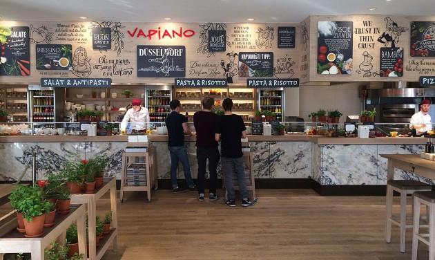 Súlyos pénzügyi gondokkal küzd a Vapiano étteremlánc