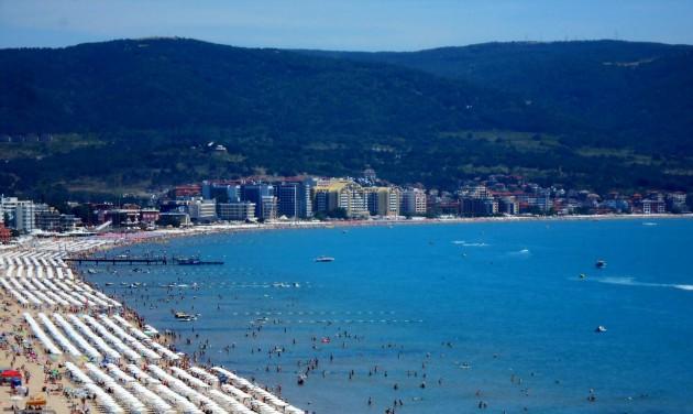 Napos partok és aranyló homok Bulgáriában