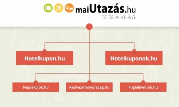 Weboldalak vásárlásával erősítette meg piacvezető pozícióját a maiUtazás.hu
