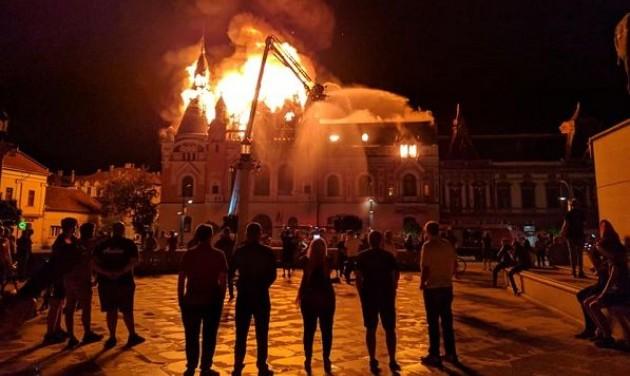 Rendbehozzák a nagyváradi püspöki palotát