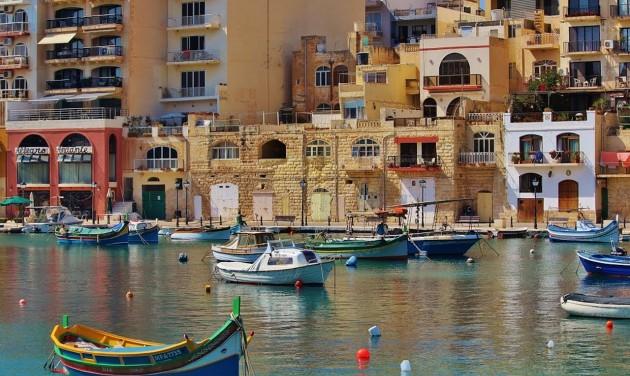 Málta a legnépszerűbb repülős úti cél nyáron