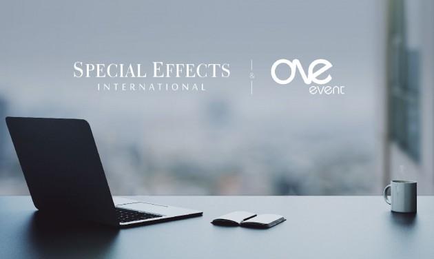 A Special Effects együttműködik a One Event Hungaryvel