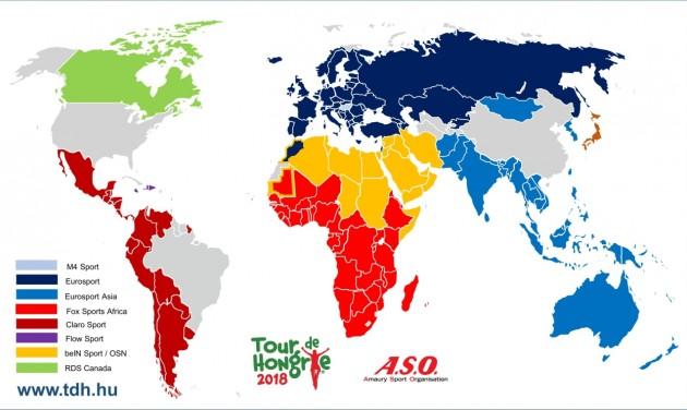 195 országban lesz látható a Tour de Hongrie