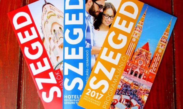 Megjelentek a 2017-es szegedi turisztikai kiadványok