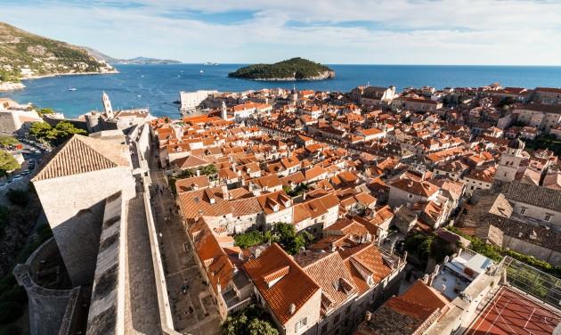 Januári turistacsúcs Dubrovnikban