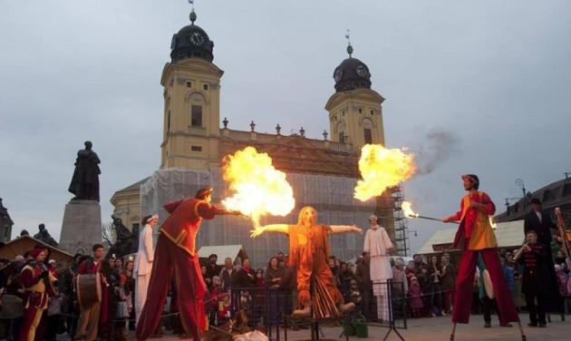 Farsangi maskarádét rendeznek Debrecenben