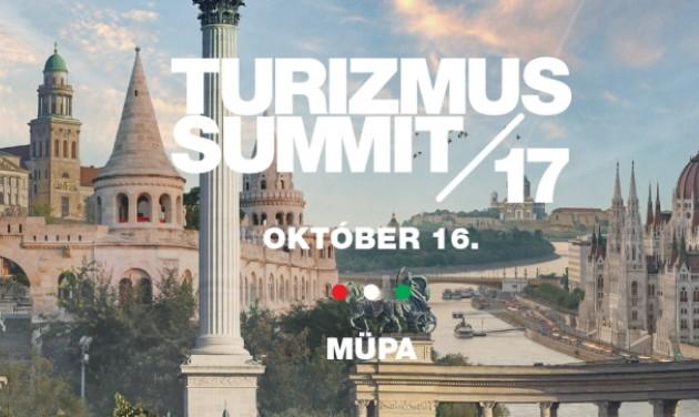 Turizmus Summit október 16-án