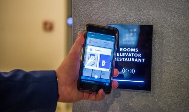 Szállodai automatizálás a VingCard zárak Mobile Access technológiájával