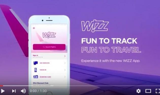 Új mobilalkalmazás a Wizz Airnél