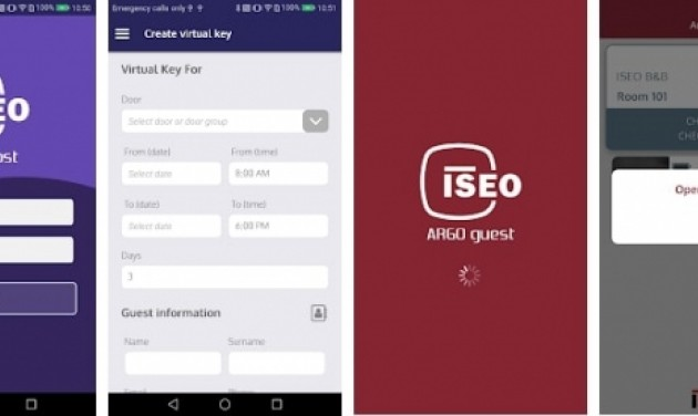 ISEO LIBRA okos zárra fejlesztett platformok: ISEO Host/Guest