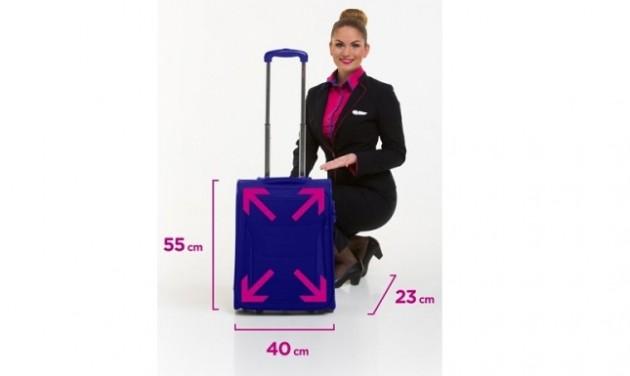 Eltörli a nagyméretű kézipoggyász díját a Wizz Air