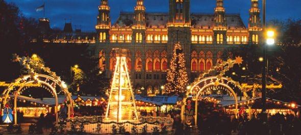 Jövő szombaton nyílik a karácsonyi vásár a bécsi Városháza téren
