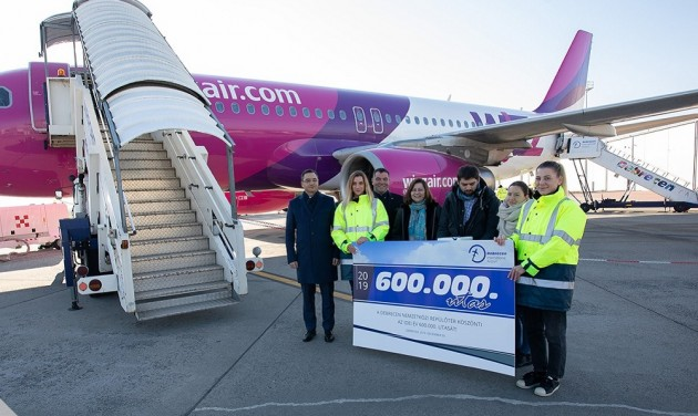 Debrecen airport breaks new passenger record