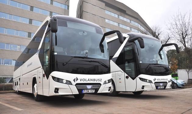 A Volánbusz 29 NeoplanTourlinert vásárol
