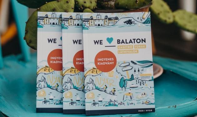 Itt a We Love Balaton 2020-as balatoni zsebkönyve