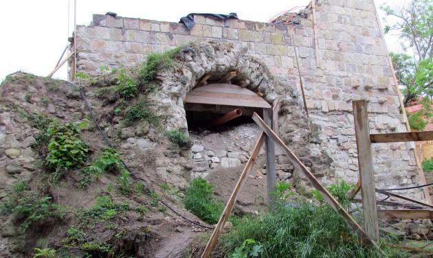 A Zárkándy bástya felújításával új attrakciót kap az egri vár