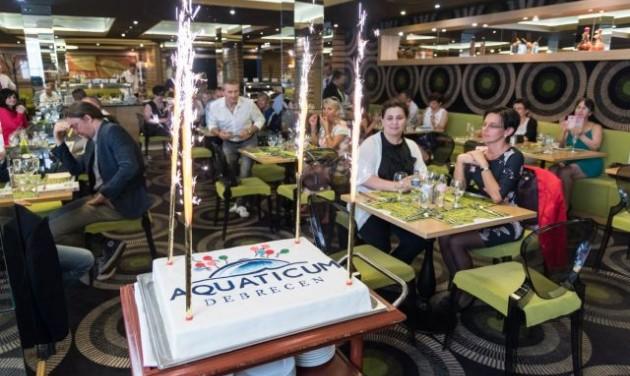 Dupla születésnap az Aquaticumban