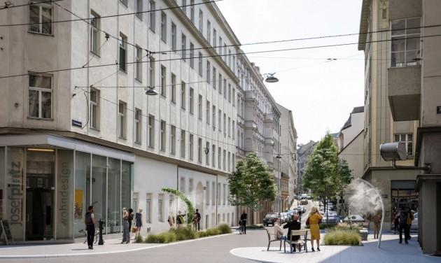 Egy egész utcát klimatizálnak Bécsben
