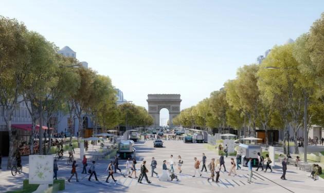 Az olimpia után megújul a párizsi Champs-Élysées