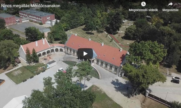 Elrajtolhat a Bezerédj-kastély felújítása