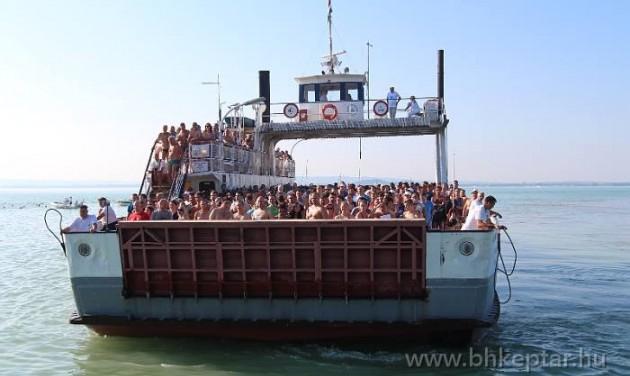 Eredményes hajózási szezon a Balatonon