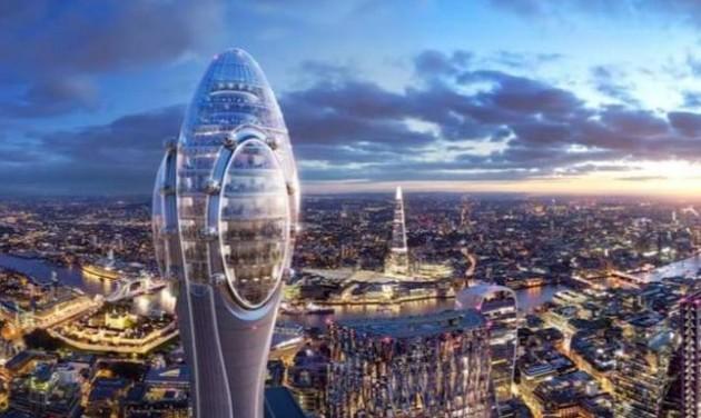 Megépülhet Nyugat-Európa második legmagasabb tornya