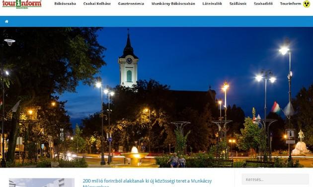 Elkészült Békéscsaba turisztikai honlapja