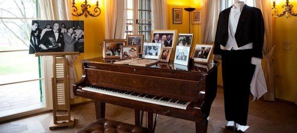 Múzeum lett Luciano Pavarotti otthonából