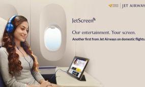 Különleges szórakoztató technika a Jet Airways-nél