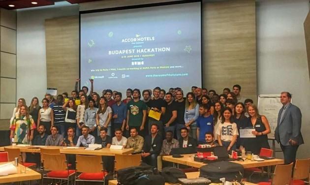 A jövő szállodaszobája az első magyar Hackathonon