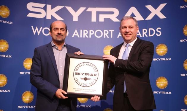 Hatodszor is Skytrax-díjas a Budapest Airport