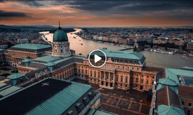 Nem mindennapi drónvideó készült Budapestről
