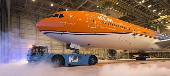 Különleges repülőgéppel ünnepli gyökereit a KLM