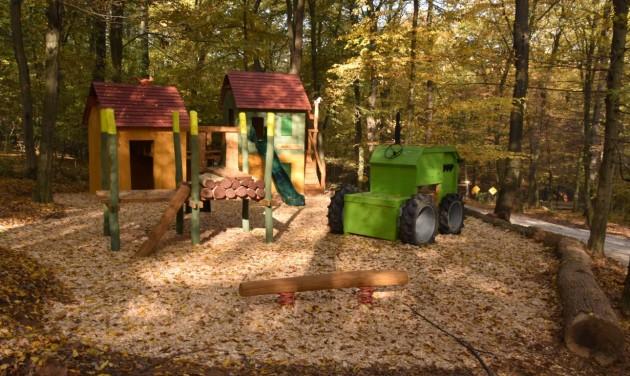 Erdészeti játszótér a Budakeszi Vadasparkban