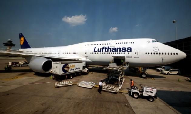 Csökkent a Lufthansa forgalma és nyeresége
