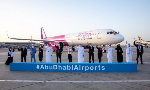 Megérkezett a Wizz Air Abu Dhabi első repülőgépe