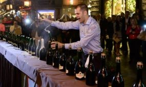 Guinness rekordkísérlet a Buddha-Bar Hotel Budapest Klotild Palace harmadik születésnapján