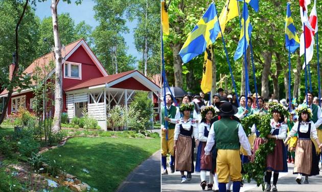 Egy igazi svéd falu Japánban