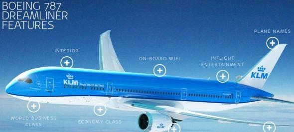 Útjára indul a KLM Dreamlinere