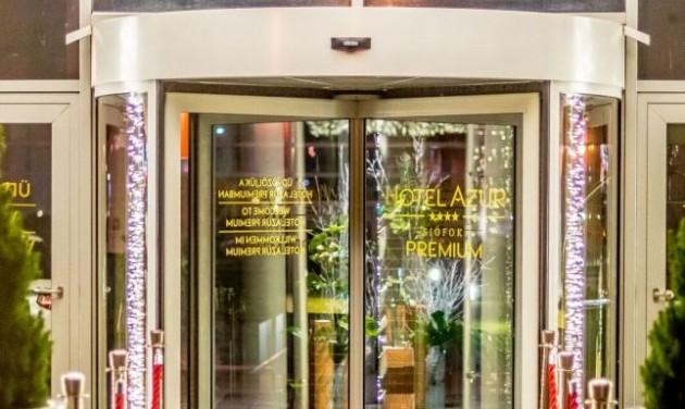 Az Azúr Prémium az első 5 csillagos hotel a Balaton-parton