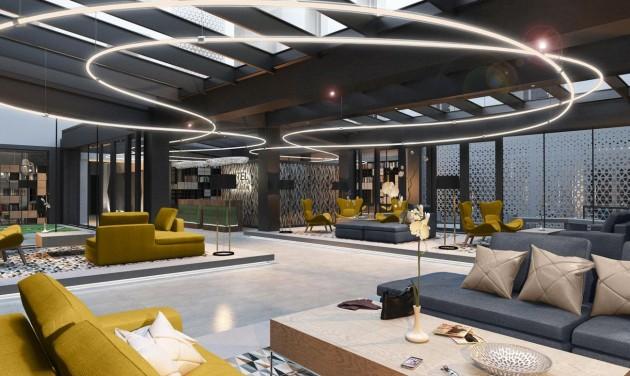 Áprilisban nyit a Hotel Vision Budapest a hajdani kisgazda székházban