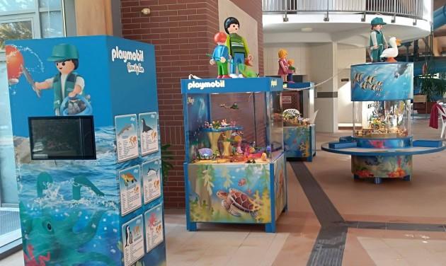 Magyarországon először: Playmobil Akvárium kiállítás a Kumániában