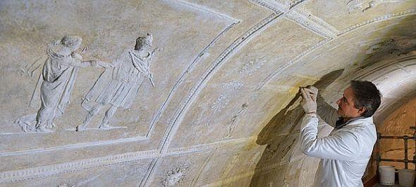 Föld alatti pogány bazilika Róma új látványossága