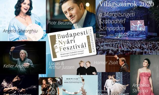 Világsztárok a 2020-as Budapesti Nyári Fesztiválon