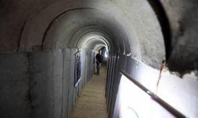 Turistalátványosságként mutogatja a Hamász a Gázai övezet alagútjait