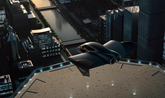 Repülő autót fejleszt a Boeing és a Porsche