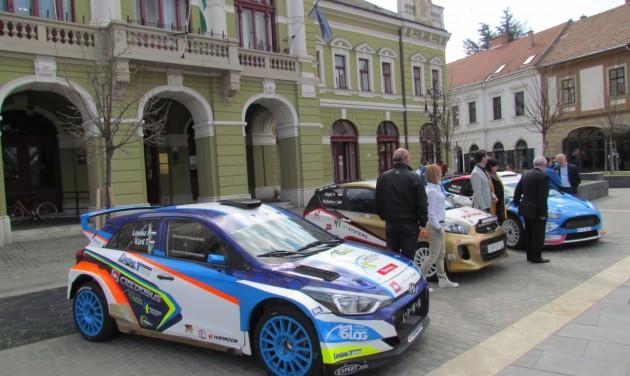Szezonnyitó nemzetközi autóverseny Egerben